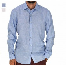 Berlin Long Sleeve Irish Linen Shirt