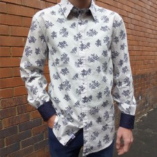 John Lennon By English Laundry Glasgow Long Sleeve Shirt