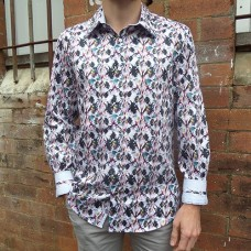 John Lennon By English Laundry Butterfly Carrick Shirt