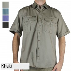 Bisley Short Sleeve Drill Shirt
