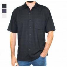 Kingston Grange Short Sleeve Plain Bamboo Shirt-Hero
