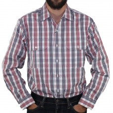 Gloster Long Sleeve 2PKT Check Shirt