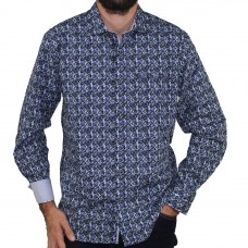 Berlin Long Sleeve Bali Print Shirt
