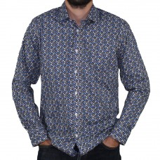 Valour Long Sleeve Flower Print Shirt Hero
