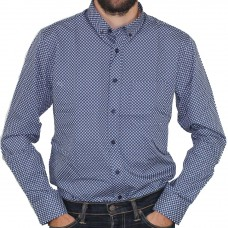 City Club Long Sleeve Leaf Dress Shirt
