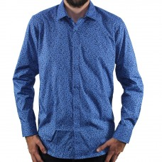 Valour Long Sleeve Leaf Print Shirt- Hero