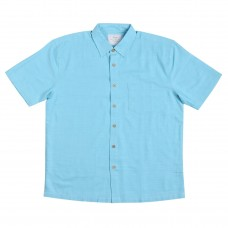 Kingston Grange Plain Island Paradise Bamboo Shirt