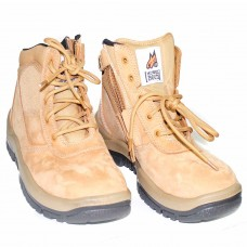 Mongrel Wheat Zip Side Steel Cap Boot
