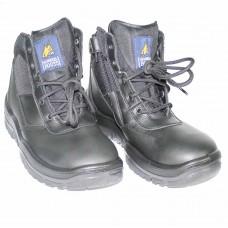 Mongrel Black Size Zip Boot