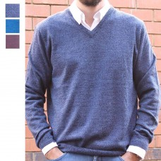 Berlin Merino Wool V neck Pullover