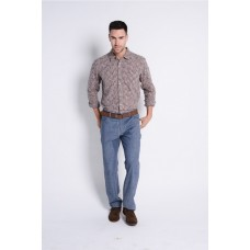 Braintree Hemp/Cotton Colour Blend Long Sleeve Shirt - 3 Colours Available