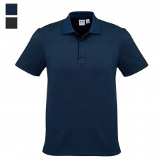 Biz Collection Short Sleeve Shadow Cotton Polo-Hero