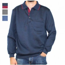 Pilgrim Clothing Company 3 Buttoned Rugby Top- Hero