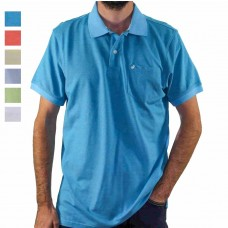 Michel Rouen Short Sleeve Pique Polo  Hero