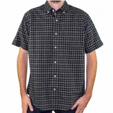 Back Bay Short Sleeve Pure Cotton Shirt Front