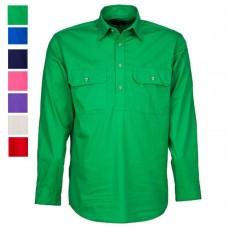 Ritemate Kids Pilbara C-Front L/S Shirt
