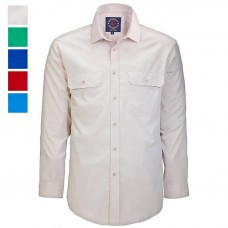 Ritemate Pilbara Open Front Long Sleeve Shirt