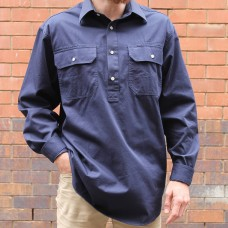 RM Williams Navy Angus Brigalow Shirt