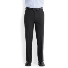 . Bongardi Wool/Polyester Flat Front Pant