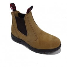 Redback Soft Toe Banana Suede Boots