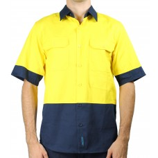 Prime Mover High Visual Short Sleeve Shirt