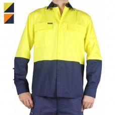 Bisley Hi Vis Drill Shirt