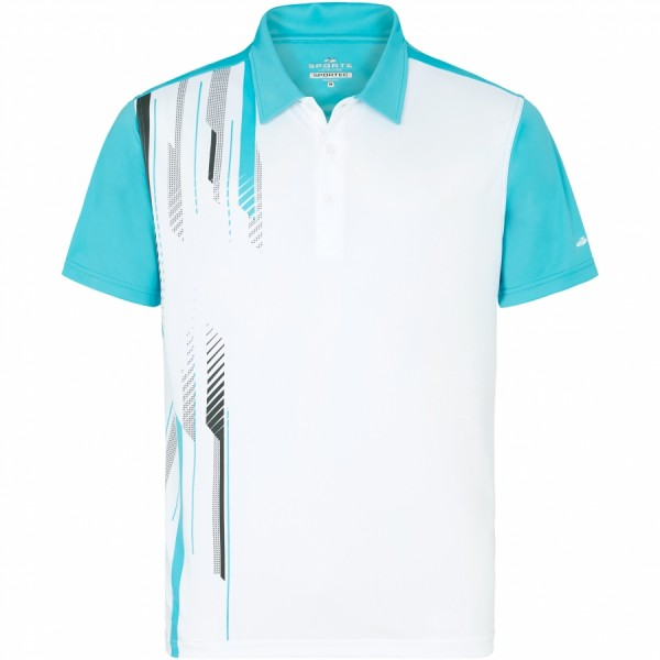 Sporte Leisure Clay Mens Sportec Aqua Polo Shirt