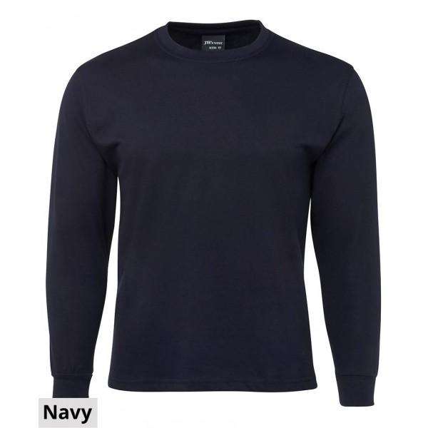 JB's Wear Plain Long Sleeve Tee-FRONT