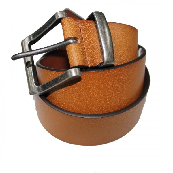 Marigold 40mm Leather Belt SIL Buckle
