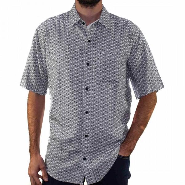 Breakaway Short Sleeve Akio Bamboo Shirt Front