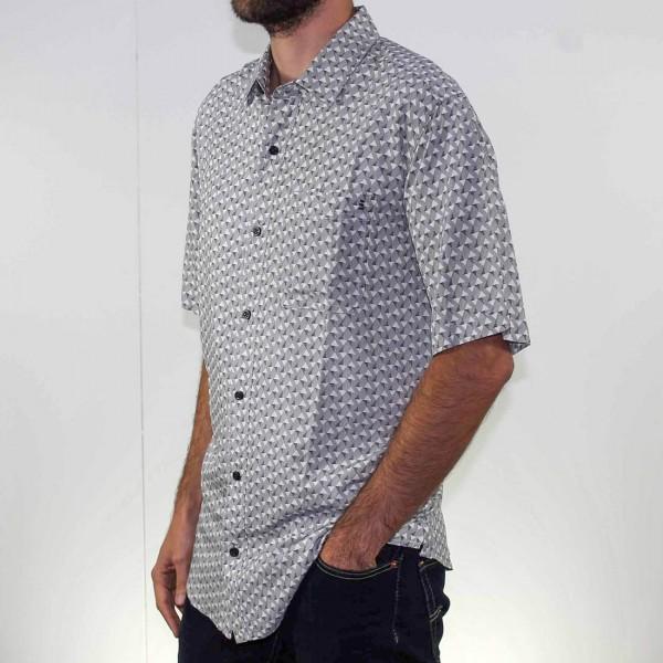 Breakaway Short Sleeve Akio Bamboo Shirt Side