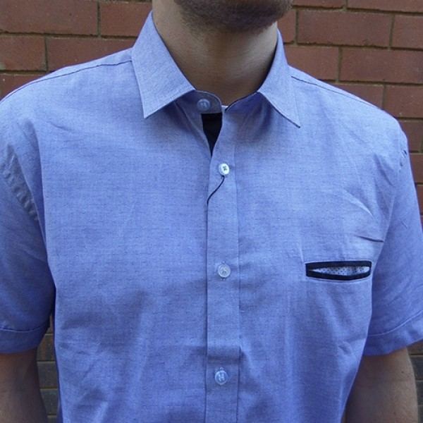 AK Demire Short Sleeve Chambray Shirt