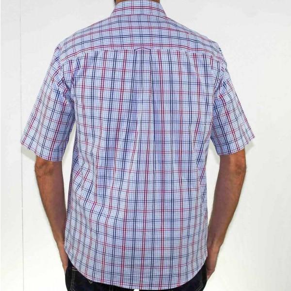 Breakaway Short Sleeve Ames Poplin Shirt Back