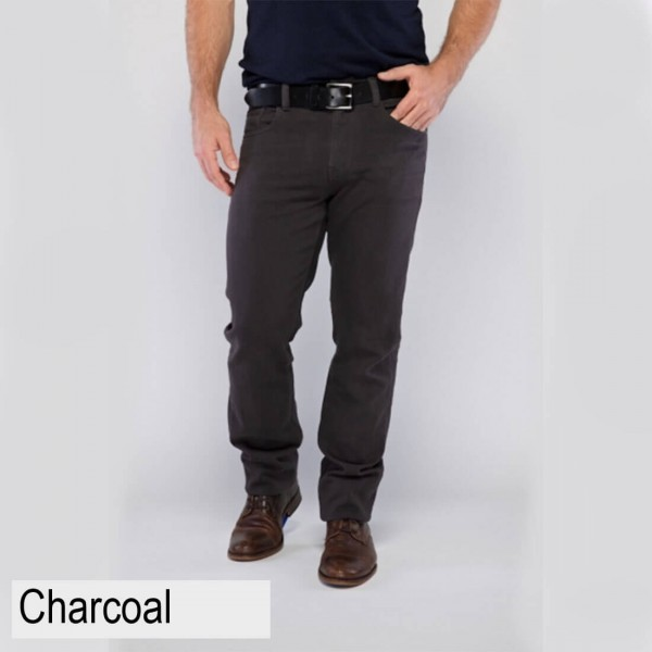 Toorallie Ando Merino Wool Jeans Charcoal
