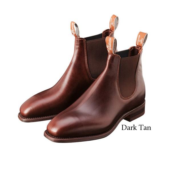 RM Williams Comfort Craftsman Boot - Dark Tan