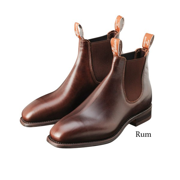 RM Williams Comfort Craftsman Boot - Rum