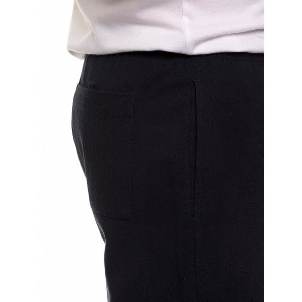 Breakaway Cotton Crinkle Short