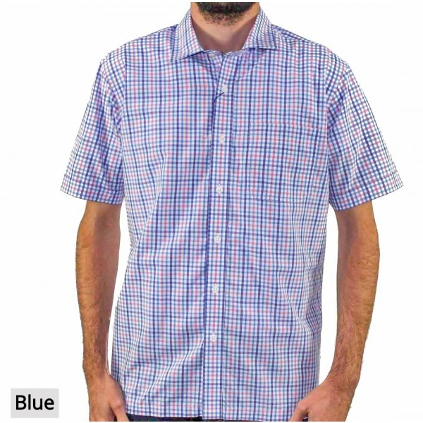 Back Bay Short Sleeve Soft Touch Shirt Front