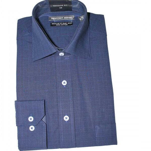 Geoffrey Beene Caan Check Business Shirt