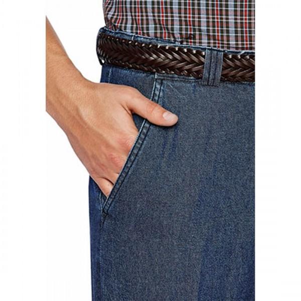 City Club Carson Denim Trouser Front Pocket