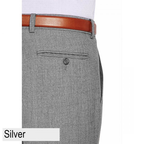 City Club Carter 183 Pant Silver Back Pocket