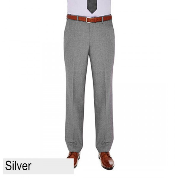 City Club Carter 183 Pant Silver Front