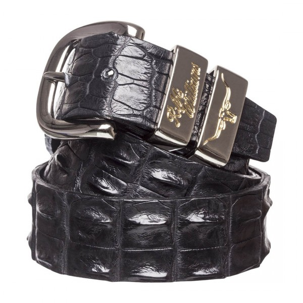 RM Willams CB660 Crocodile Belt Black