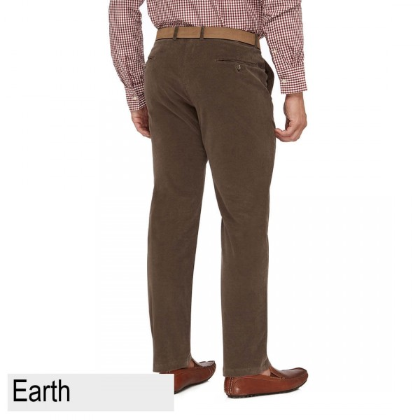City Club Chase Hudson Trouser Earth Back