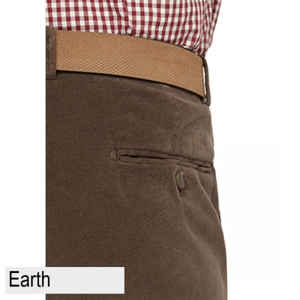 City Club Chase Hudson Trouser Back Earth Pocket