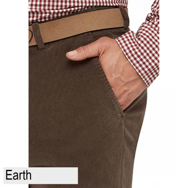 City Club Chase Hudson Trouser Front Earth Pocket