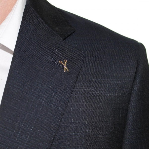 Studio Italia Check Suit