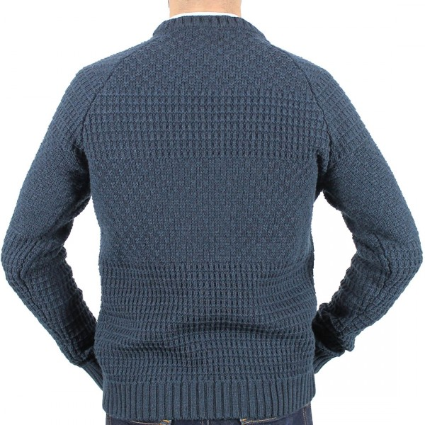 Berlin Crew Textured Knit Back