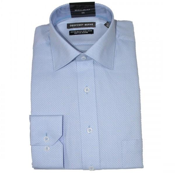 Geoffrey Beene Deep Dobby Business Shirt