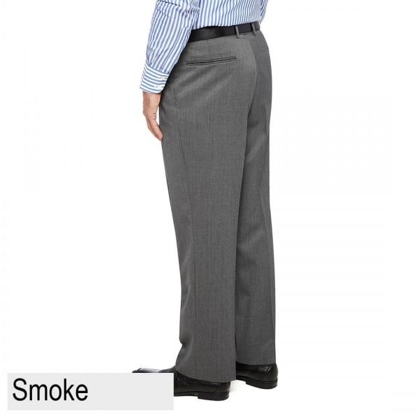 City Club Diplomat PWLG Pant back Smoke